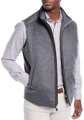 Peter Millar Darien Crown Fleece Wool/Cashmere Quilted Vest