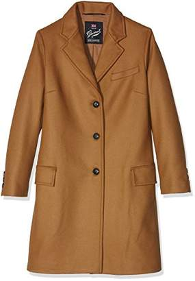 Gloverall Women's Chesterfield Coat,(Manufacturer Size:Large)