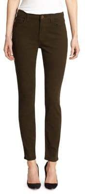 Skinny Brushed Sateen Jeans