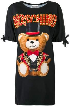 Moschino Circus Teddy Bear T-shirt dress