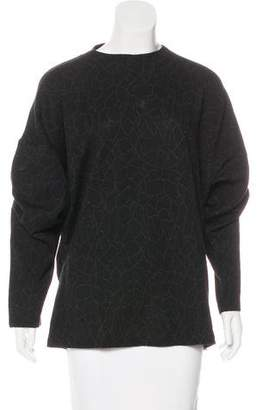 Gianni Versace Wool Patterned Sweater
