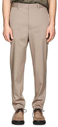 Neil Barrett MEN'S STRETCH-GABARDINE SLIM TROUSERS