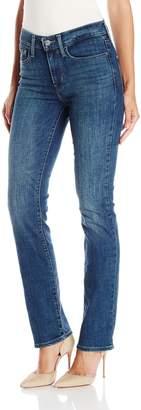 Levi's Women's Slimming Straight Jeans