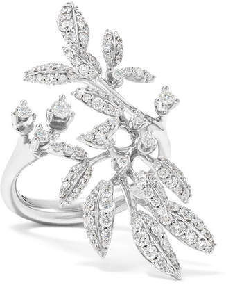 OLE LYNGGAARD COPENHAGEN - Winter Frost 18-karat White Gold Diamond Ring