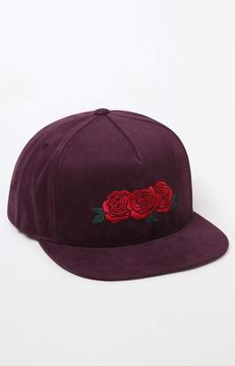 HUF Triple Rose Snapback Hat