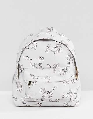 Mi-Pac Super Mini Backpack in Cat Print