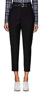 Etoile Isabel Marant Women's Noah High-Rise Wool Trousers - Black