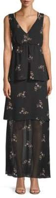 BCBGeneration Floral Evening Dress