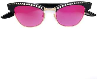 Gucci small cat-eye sunglasses