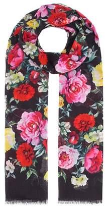 Dolce & Gabbana Floral-printed cotton scarf