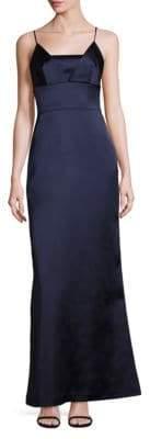 Bailey 44 Satin A-Line Gown