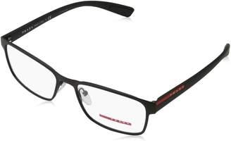 Prada New PR PS 50GV DG0-1O1 Frame Rectangular Eyeglasses 55