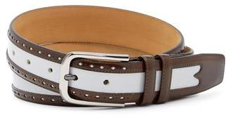 Mezlan City Leather Belt