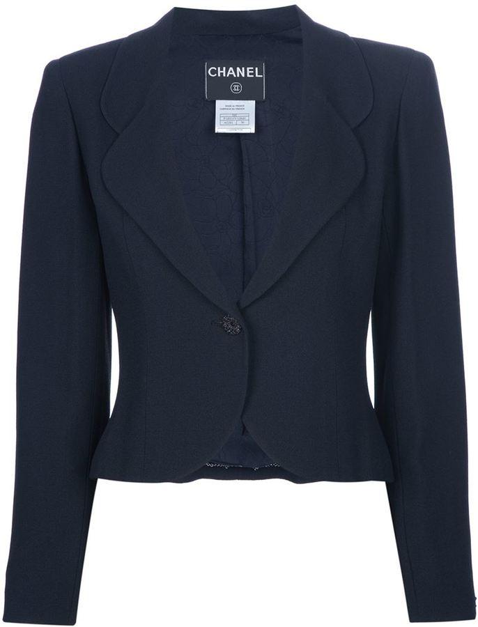 Chanel cropped blazer