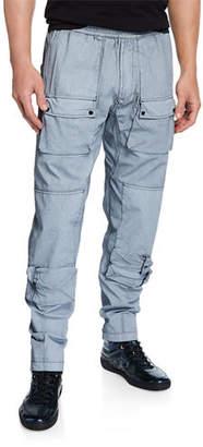 Stone Island Men's Cotton Cargo Pants
