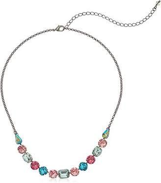 Sorrelli Mahogany Multi-Cut Crystal Necklace