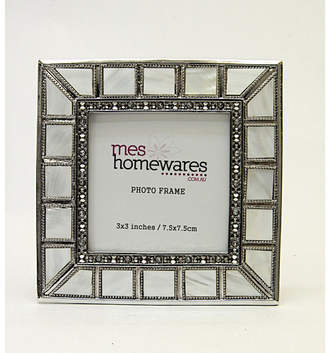 Mother of Pearl 3x3 Small with Bevelled Edge Photo Frame