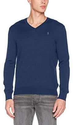 Polo Ralph Lauren Men's Long Sleeve-Sweater Jumper, (Shale Blue Heather 23MR)