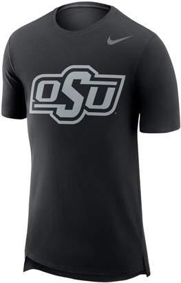 Nike Men's Oklahoma State Cowboys Enzyme Droptail Tee