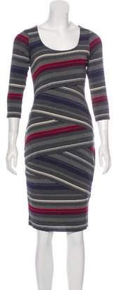 Bailey 44 Striped Knee-Length Dress