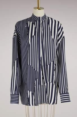 Haider Ackermann Silk oversize shirt