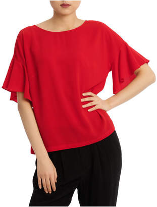 Basque Must Have Flutter Boxy Sleeve Top