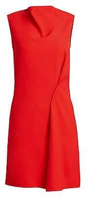 Victoria Beckham Women's Side Drape Boatneck Tunic