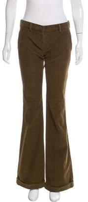 Balmain Mid-Rise Corduroy Pants w/ Tags
