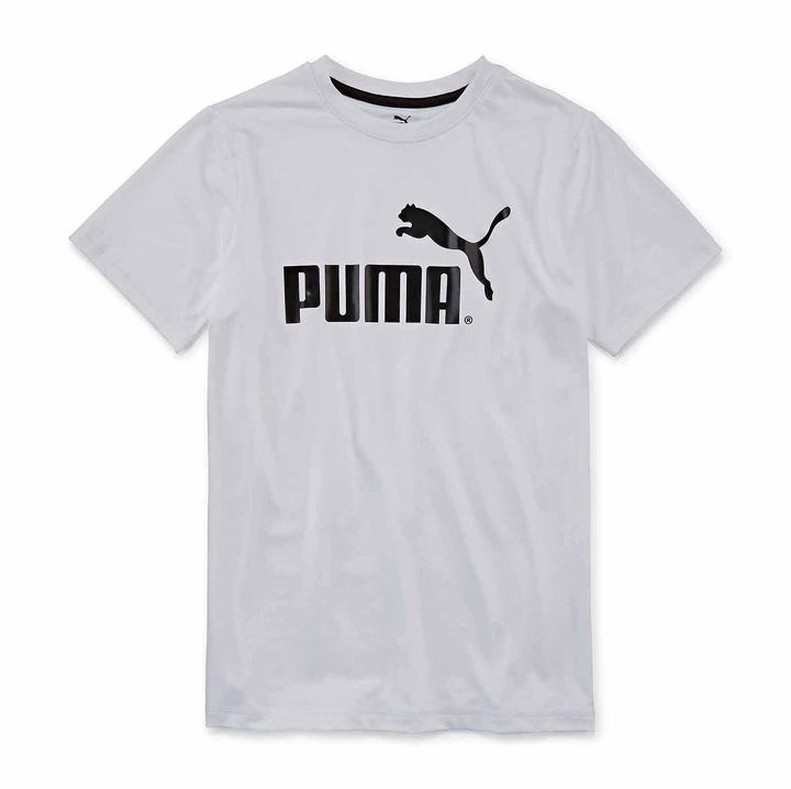 PUMA Puma Short-Sleeve Graphic Tee - Boys 8-20