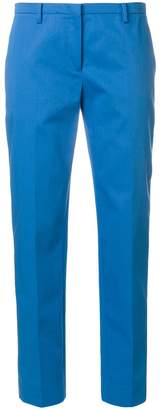 No.21 straight leg cropped trousers