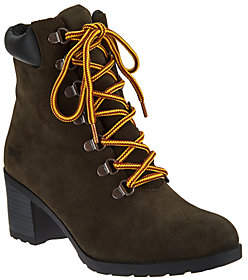 Cougar Waterproof Suede Lace-up Boots - Angie