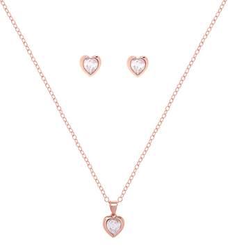 Ted Baker Hadeya Sweetheart Earrings & Necklace Gift Set
