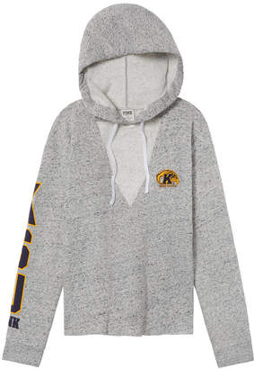 PINK Kent State University Choker Neck Pullover Hoodie
