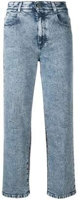 Stella McCartney cropped high-rise jeans