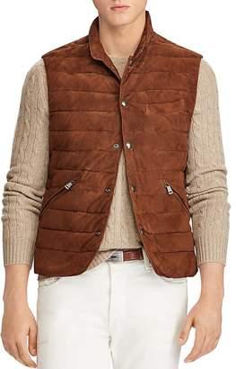 Polo Ralph Lauren Walbrook Leather Vest