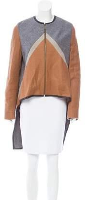 Derek Lam Colorblock Wool Coat