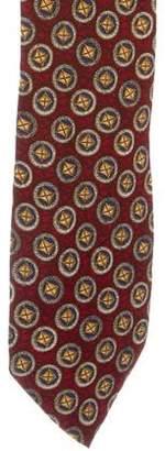Valentino Silk Geometric Print Tie