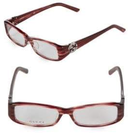 Gucci 53MM Marbled Optical Glasses