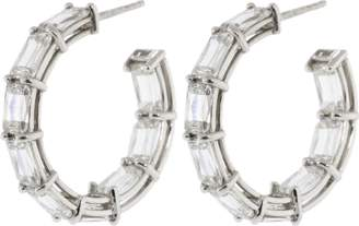 Kwiat Ashoka Diamond Hoop Earrings