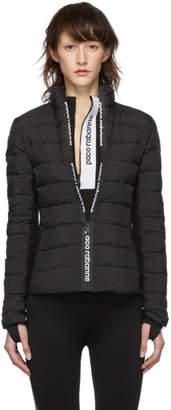 Paco Rabanne Black Down Bodyline Jacket