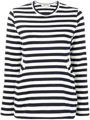 Comme des Garcons striped blouse