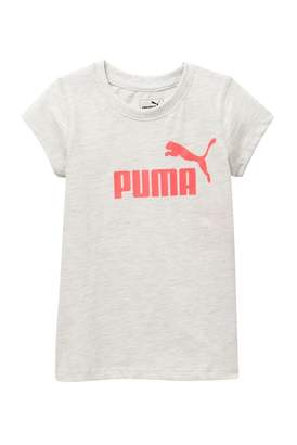 Puma Short Sleeve Screen Tee (Little Girls)