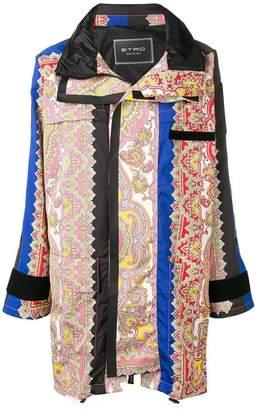 Etro paisley print coat