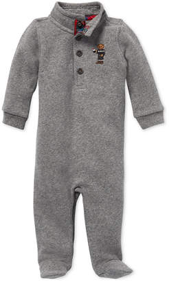 Polo Ralph Lauren Baby Boys Polo Bear Coverall