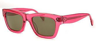 CelineCeline CL41732-F511E-51 Women's Square Fuchsia Translucent Sunglasses