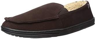 Isotoner Men's Suede Tommy Closed Back Flat