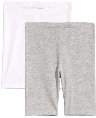 H&M 2-pack Cycling Shorts - Gray