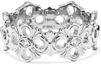 Buccellati Opera Eternelle 18-karat White Gold Diamond Ring