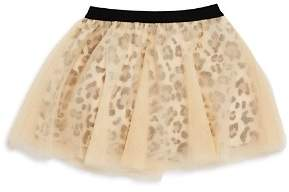 Mini Series Girls' Leopard-Print Tutu Skirt, Little Kid - 100% Exclusive
