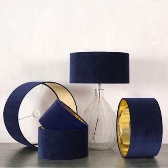 Graham and Green Midnight Velvet Lamp Shades